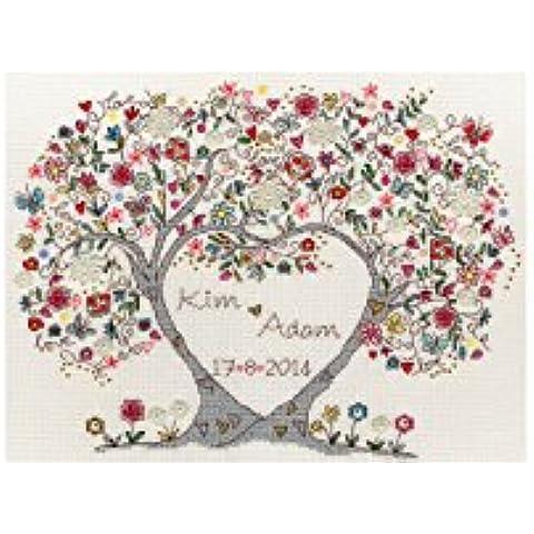 Bothy Threads Love Blossoms Cross Stitch Kit