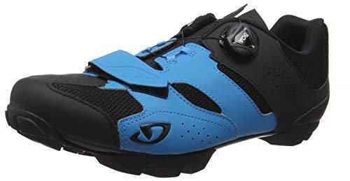 Giro Herren Cylinder MTB Radsportschuhe-Mountainbike, Mehrfarbig (Blue Jewel/Black 000), 43 EU