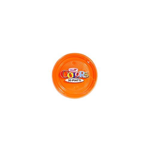 Piatti Dessert X 50 Arancione