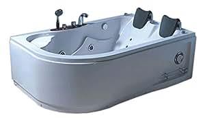 Vasca Da Bagno Harmony : Vasca bagno idromassaggio angolare modello varadero cm