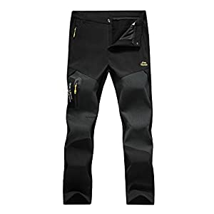 31IM7HDuacL. SS300  - 7VSTOHS Mens Zip Off Convertible Quick Dry Hiking Trousers Breathable Lightweight Outdoor Casual Climbing Walking…