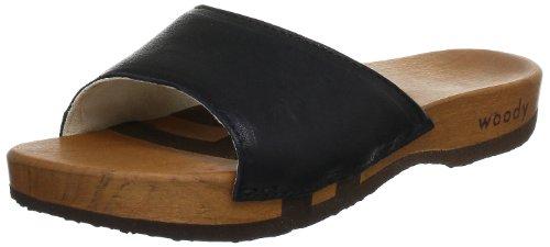 Woody 6051/85, Mules femme Noir (Dixan Nero)