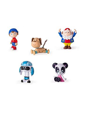 Unbekannt Noddy 6029050-Figuren Serie TV Noddy, Figuren Sortiert Verschiedene Charaktere