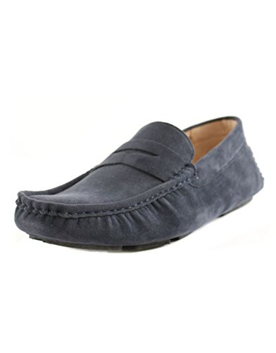 Reservoir Shoes - Mocassin fashion homme Reservoir Shoes Raul Bleu Marine Bleu