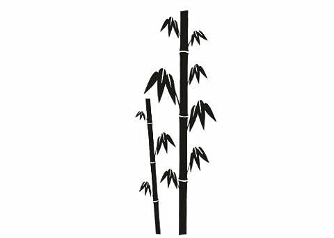 Wandtattooladen Wandtattoo - Bambus-Set Größe:58x160cm Farbe: Schablone
