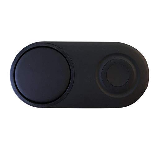 Dengofng EP P5200 Qi Certificato USB Tipo C Porta Ricarica Rapida 2.0 Portatile Wireless Caricatore per Samsung Smart Orologio o Smart Telefono 7.5w -12w - Nero, Free Size