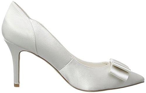 Menbur Wedding - Natalia, Scarpe col tacco Donna Avorio (Elfenbein (Ivory))
