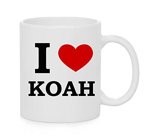I heart Koah ( Love ) Mug ufficiale
