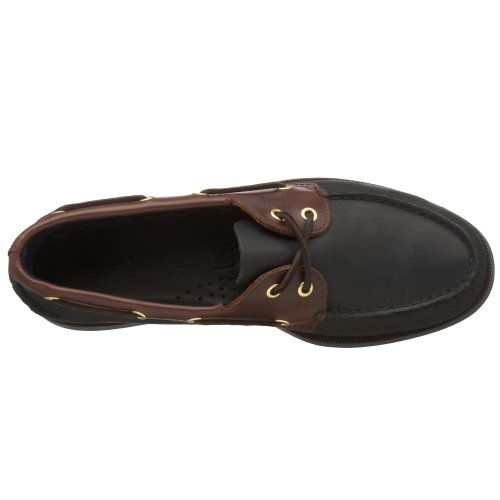 Sperry Top-Sider Mens A/O Boat Shoe Black/amaretto