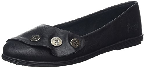 Blowfish Garnet, Damen Ballerinas, Schwarz (Black Tuscan), 38 EU (5 UK) (Blowfish Schuhe Schwarz)