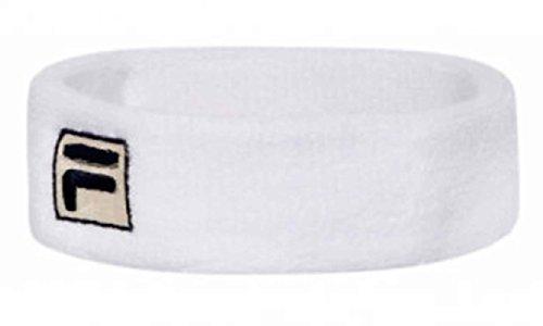 fila-bandeau-de-tennis-en-coton-bouclette-blanc
