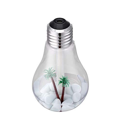 Wasser, Orange Zerstäuber (Dicomi Aroma Luftbefeuchter LED Lampe Luftreiniger Zerstäuber Haushaltsartikel Silber)