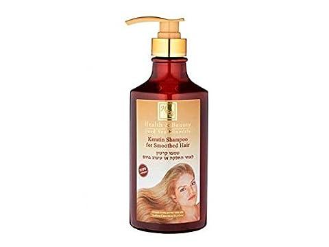 Mer Morte cosmétique - Health and Beauty Dead Sea Minerals - Shampoing traitant à la kératine - 780 ml