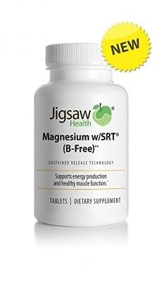 Magnesium w/SRT (B-Free) 60 tablets - Jigsaw Health from Jigsaw Health