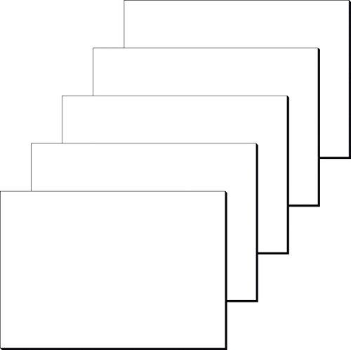 Sigel HO300 Sottomano Da Scrivania Di Carta/Blocco Da Disegno, Semplice, Bianco, 59,5x41 Cm, 30 Fg, 5 Pezzi