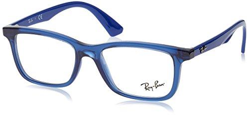 Ray-Ban Unisex-Kinder 0RY 1562 3686 48 Brillengestelle, Blau (Transparente Blue),