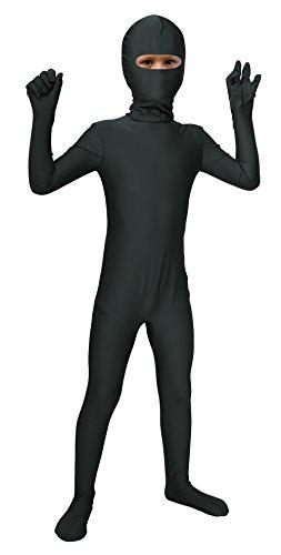 Sheface Kids Spandex Eyes Open Bodysuit Fancy Dress Costume (Large, ()