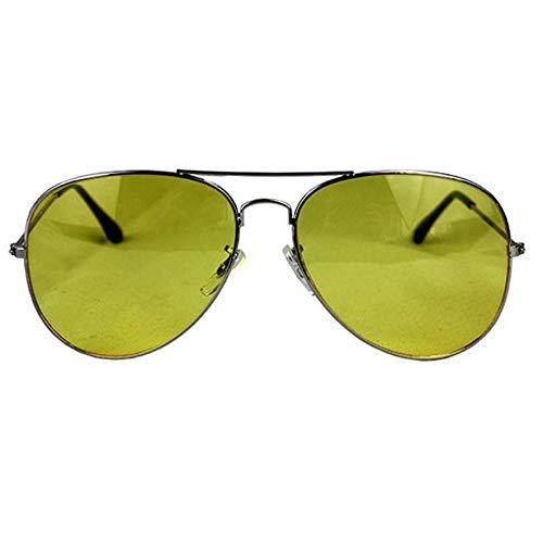 8Eninine Männliche Nacht Driving Eyes Tv Driving Sonnenbrille Driver Anti-Glare Sonnenbrille Dunkelgrün