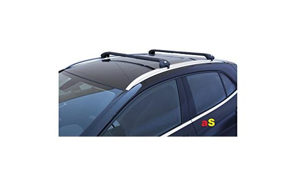 Auto Dachträger Gepäckträger Viva 2 Decoder Für Auto Schwarz Auto