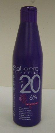 Salerm Cream Oxidant Volume 20 with Aloe Vera 8.1oz