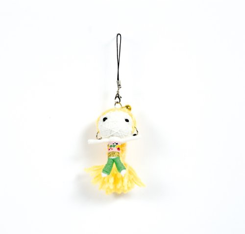 Voodoo/Gag/Gimmick/Hingucker: Handy-/Schlüsselanhänger Vodoodoo-Puppe PRINZESSIN JASMIN - Glück