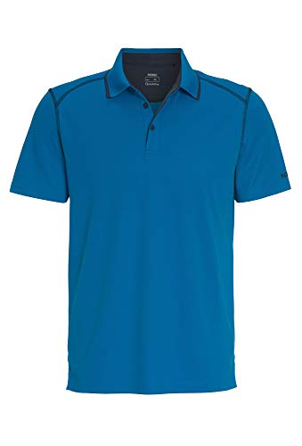 Outdoor Polo Shirt 1/2 Arm Uni blau,XL