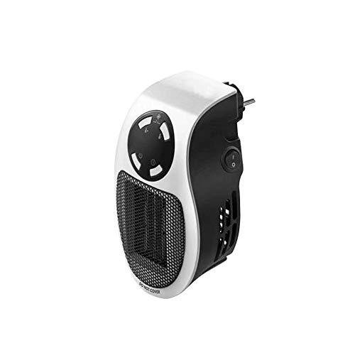 Ljourney Mini Calentador de Oficina Personal Calentador de hogar portátil Calentador práctico, Seguro y Ajustable, Handy Plug-in Directo de 500 vatios