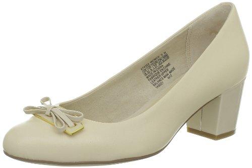 Rockport France Phaedra Ornament Pump, Chaussures basses femmes Beige (Macadamia)