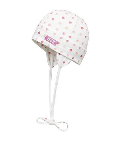 Döll Mädchen Mütze Bindemütze Jersey 1812176650, Rosa (Fuchsia Pink 2023), 41