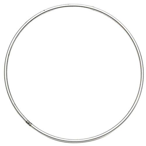 Aro de metal redondo de 1 tamaños de diámetro para colgar en la pared, macramé, manualidades, aros para mandelas de Spirit Shields, decoración para el hogar (120 mm)
