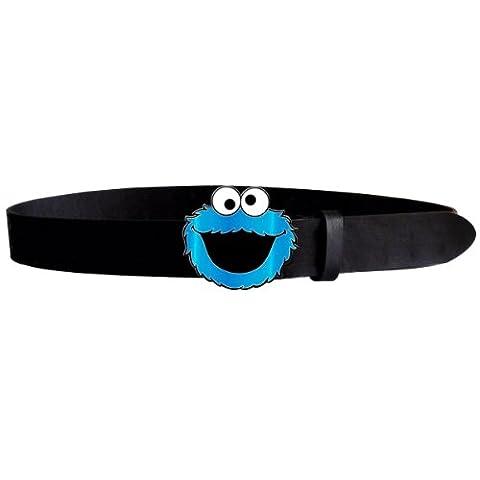 Sesamstraße Cookie Monster Gürtel schwarz M
