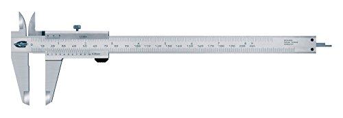 Standard Gage 00534030 Nonius-Messschieber, 0 mm - 200 mm/8 Zoll, 0.05 mm/1/128 Zoll