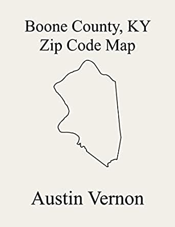 map of hebron kentucky Boone County Kentucky Zip Code Map Includes Hebron Burlington map of hebron kentucky