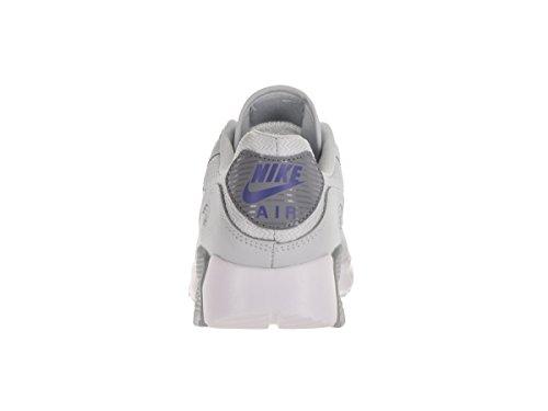 Nike Ladies W Air Max 90 Ginnastica Ultra Essenziale, Rosso, 41 Eu Bianco (puro Platino / Pr Pltnm Stlth)