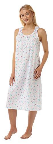Suzy & Me Damen Nachthemd Gr. 52-54, Multi