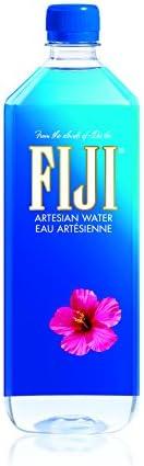 Fiji Water - Eau Minérale Plate des Îles Fidji - Eau Artésienne Enrichie en Minéraux - Filtration Naturelle, C