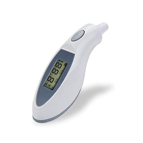 JUZEN Digitale Thermometer Thermometer Digitale Thermometer für fiebergenaue und schnelle Messungen für Kinder, Erwachsene, Babys, Kleinkinder, Weiß