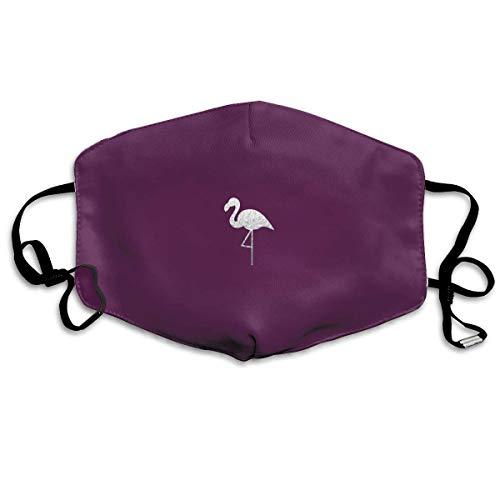 Vidmkeo Unisex Staubmaske Pink Flamingo Mundmaske Gesicht Kleidung Anti Verschmutzung Outdoor Maske Aktivitäten Warme Winddicht Gesichtsmasken Fashion11 (Jahre Kleidung 1920er Der)