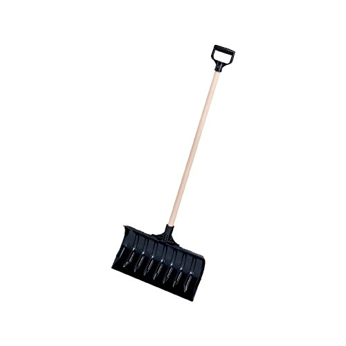 Garant LPP18VD Lynx 18-Inch Poly Blade Snow Pusher - Black