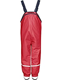 Playshoes Waterproof Rain Dungarees with Fleece Lining