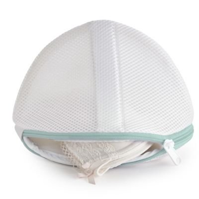 Lakeland Standard Lingerie Bra Clean Wash Net Bags - up to D x 2 - White