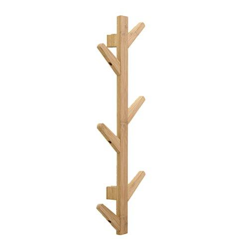 Toyvian Perchero bambu Pie 6 Ganchos   Rama árbol