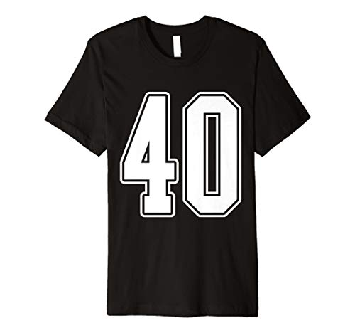 Nr. 40 Sports Fan Jersey Style T-Shirt ()