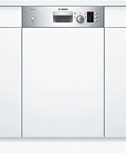 Bosch SPI25CS03E Geschirrspüler Teilintegriert / A+ / 220 kWh/Jahr / 2380 L/jahr / Aqua Sensor / Active Water Hydrauliksystem / Edelstahl