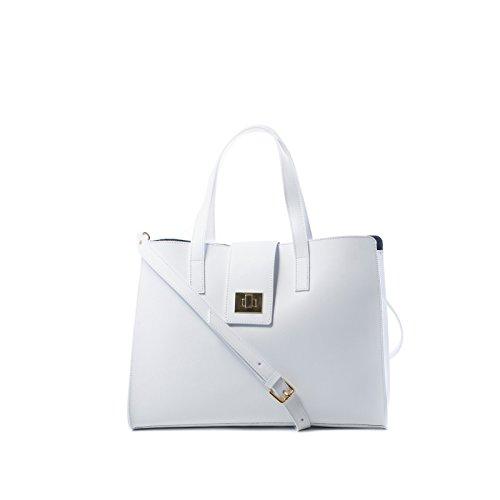 Nardelli - Borsa modello Giulia - Colore Bianco 100% Made in Italy