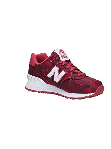 New Balance Wl574, Bottes Classiques femme Rouge (Red)