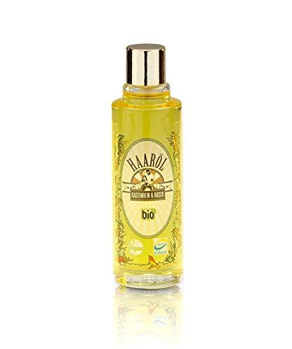Kastenbein & Bosch Bio Haaröl aus Arganöl mit Vanillenote - 100{36624ee68a777445de608ef4c558c62f46a86ccc599569d806a2294220c44b31} natürlich, vegan, ohne Silikone & Parabene - Ergiebige Intensivpflege für trockenes Haar - 30ml