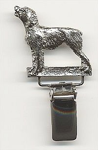 Brittany Spaniel Dog Show Ring Clip/Number Holder