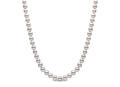 Kimura Pearls 9 ct White Gold 5 mm White Semi