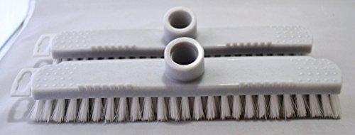 Sparset Schrubber 2-teilig aus Kunststoff von Perfecta granitfarben